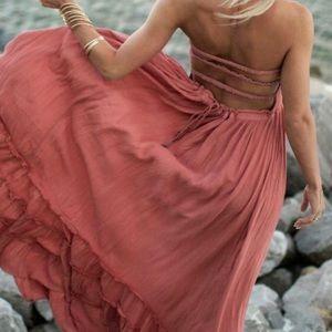 Summer Cotton Sexy Blackless Dress FP